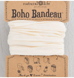 Natural LIfe Boho Bandeau, Solid Cream