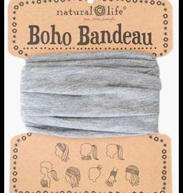 Natural LIfe Boho Bandeau, Heather Grey