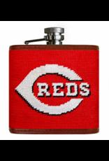 Smathers & Branson S&B Flask, Cincinnati Reds