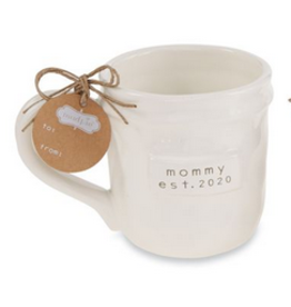 Mud Pie Mommy Est. 2020 Mug