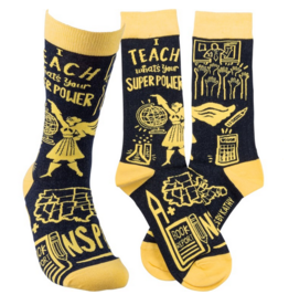 Socks, I Teach What's Your Superpower