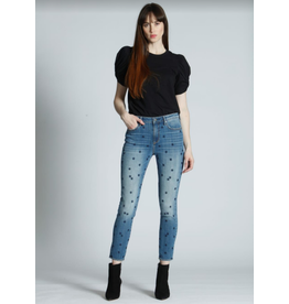 Jackie High Rise Star Jean