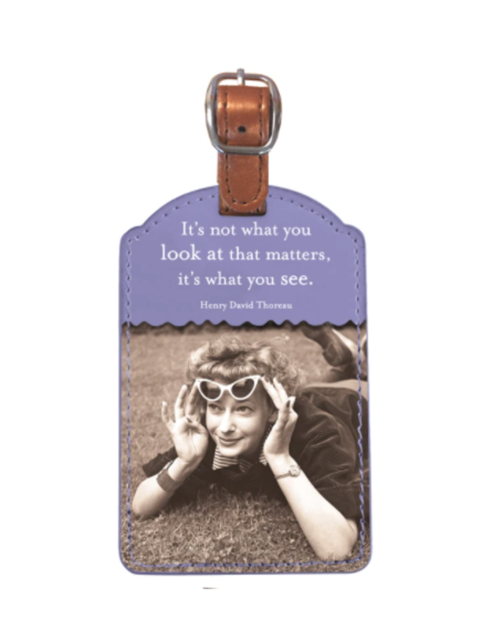 Shannon Martin What You See Luggage Tag