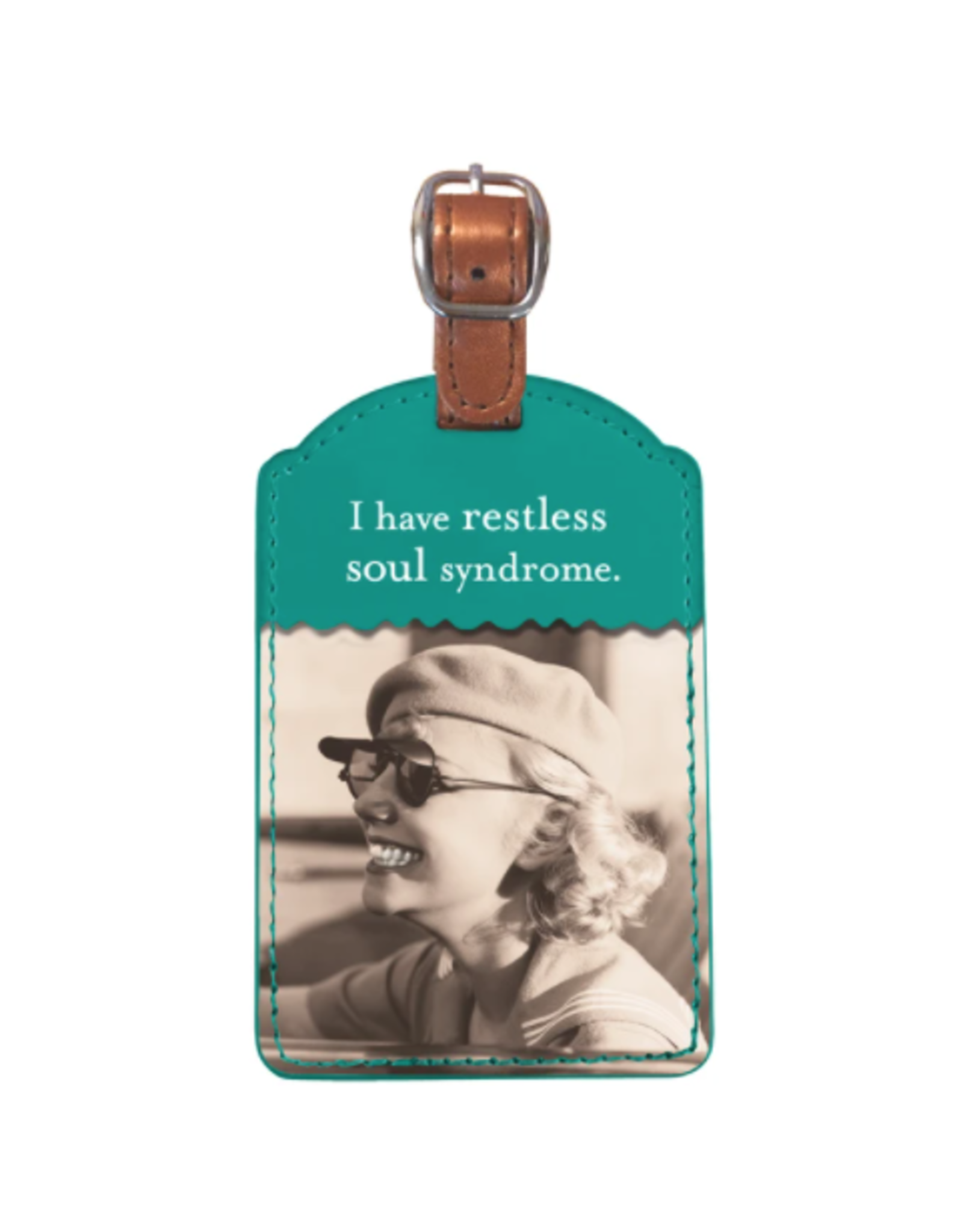 Shannon Martin Restless Soul Luggage Tag