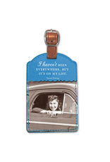 Shannon Martin On My List Luggage Tag