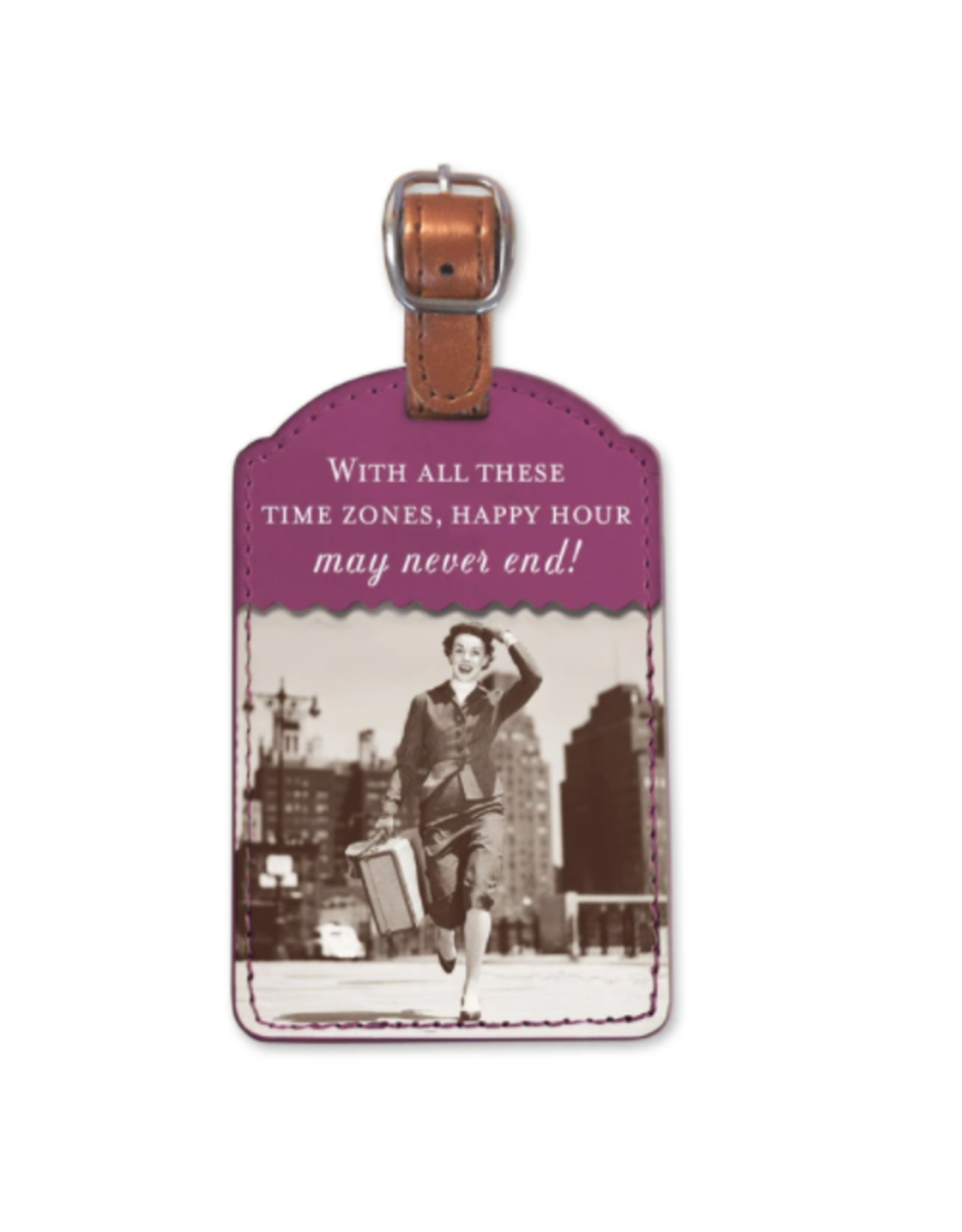 Shannon Martin Time Zone Luggage Tag