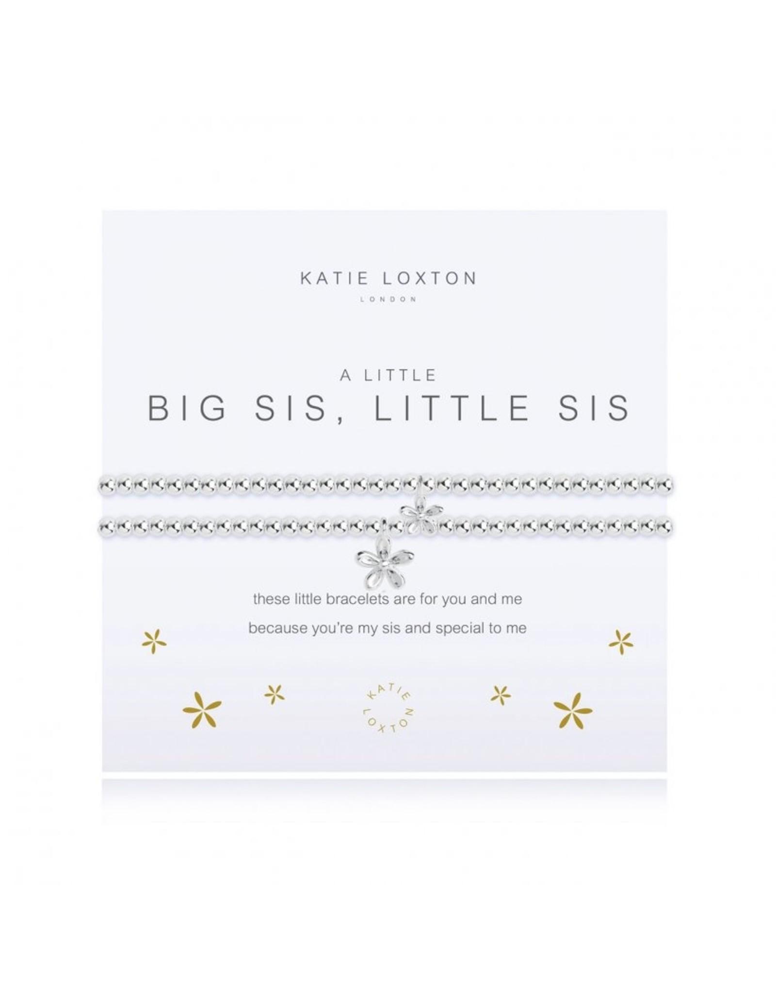 a little Big Sis Little Sis Bracelet