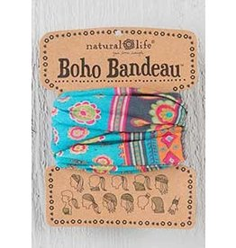 Natural LIfe Boho Bandeau, Turquoise Medalli