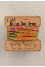 Natural LIfe Half Boho Bandeau, Mustard Floral Mandala