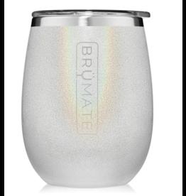 Uncork'd XL 14OZ Wine Tumbler, glitter white