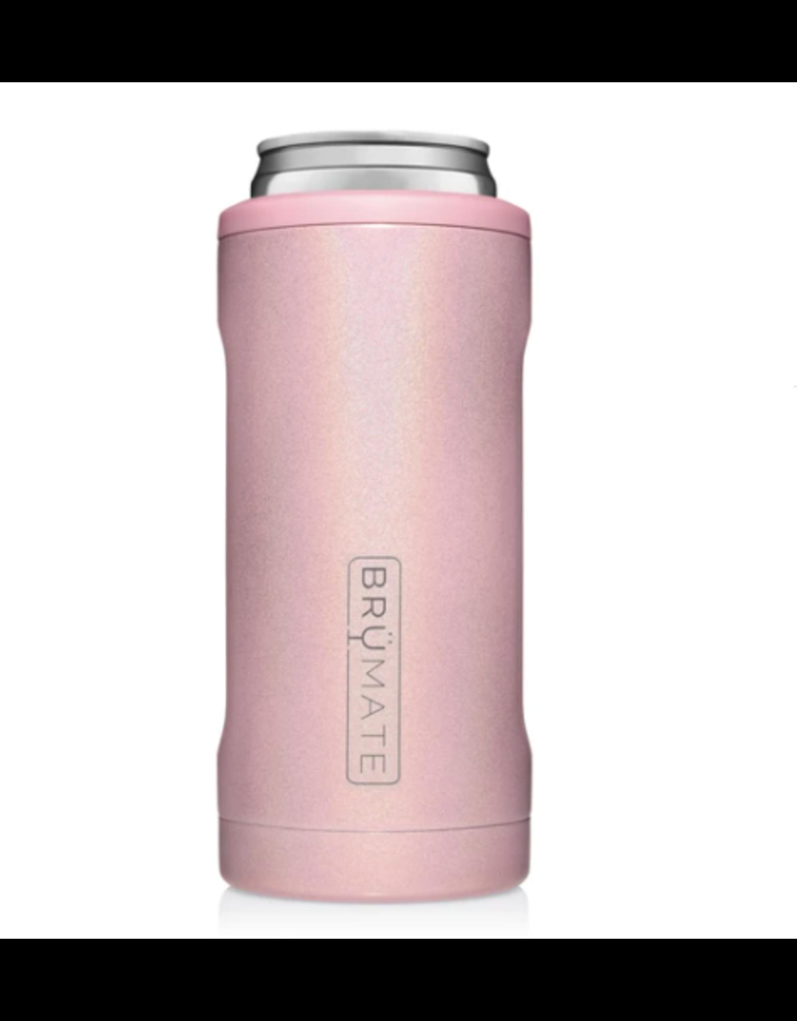 Hopsulator Slim Insulated Can-Cooler, glitter blush