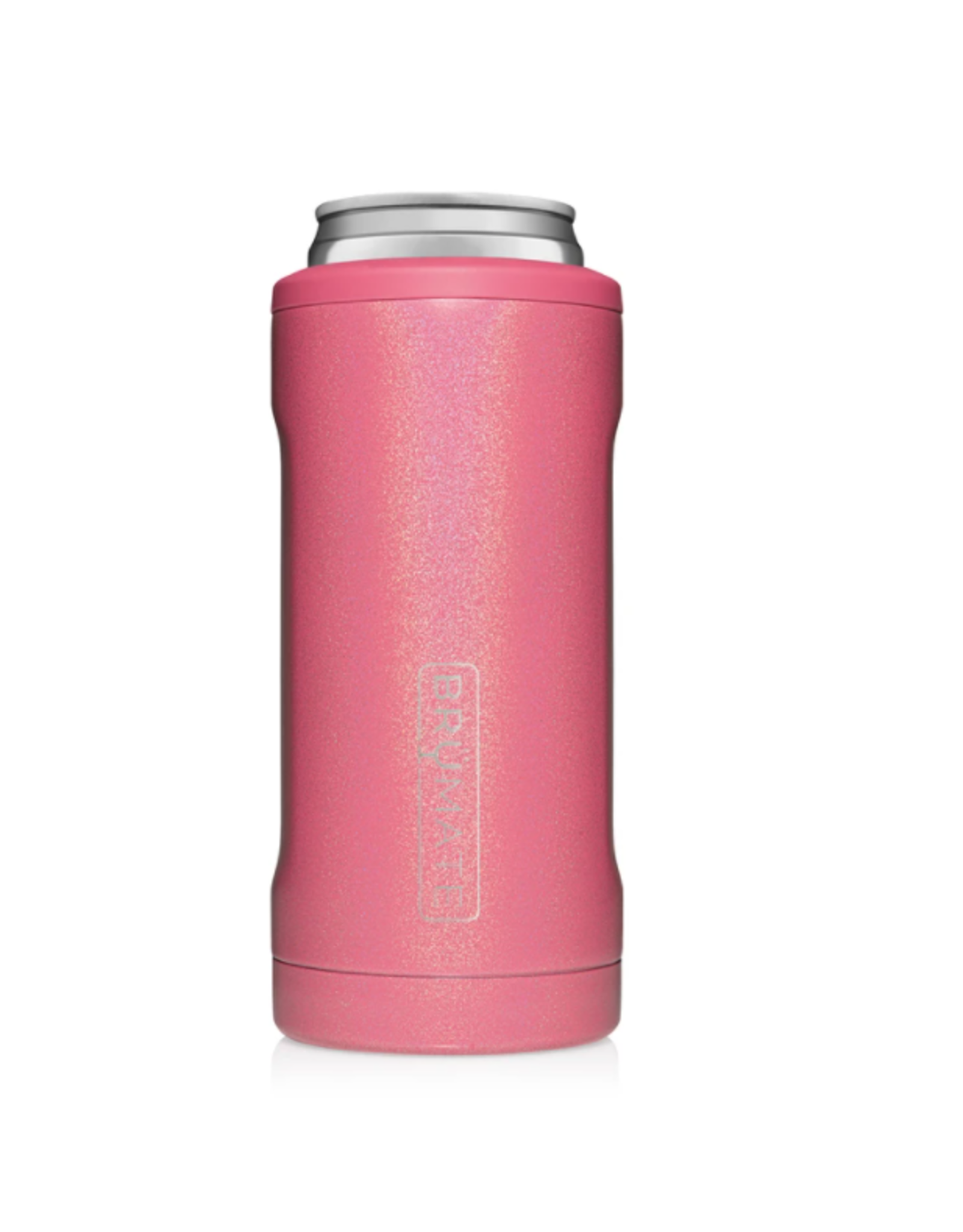 Hopsulator Slim Insulated Can-Cooler, glitter pink