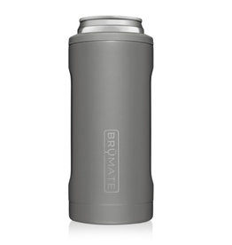 Hopsulator Slim Insulated Can-Cooler, matte gray