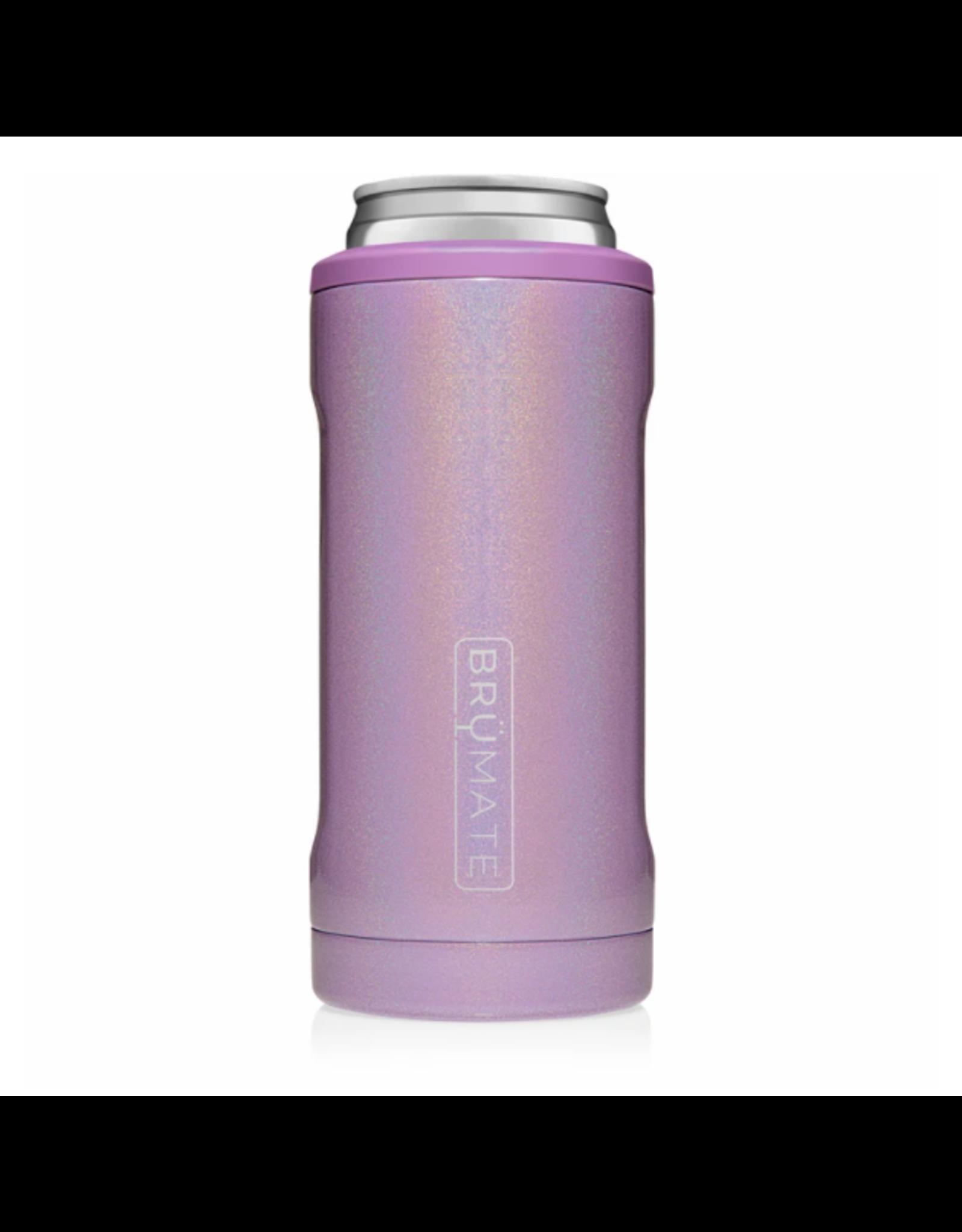 Hopsulator Slim Insulated Can-Cooler, glitter violet