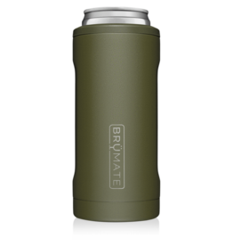 Hopsulator Slim Insulated Can-Cooler, OD Green
