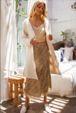 Alpaca Mohair Textured Cardigan