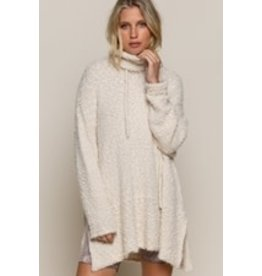 Loose Fit Turtleneck Sweater