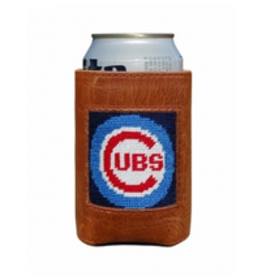 Smathers & Branson S&B Needlepoint Can Cooler, Chicago Cubs