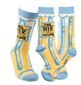 Socks-This Beer is making me awesome