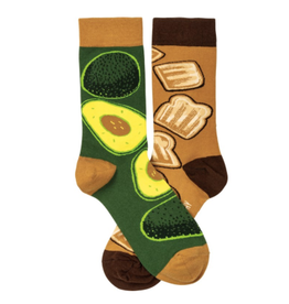 Socks, Avocado & Toast