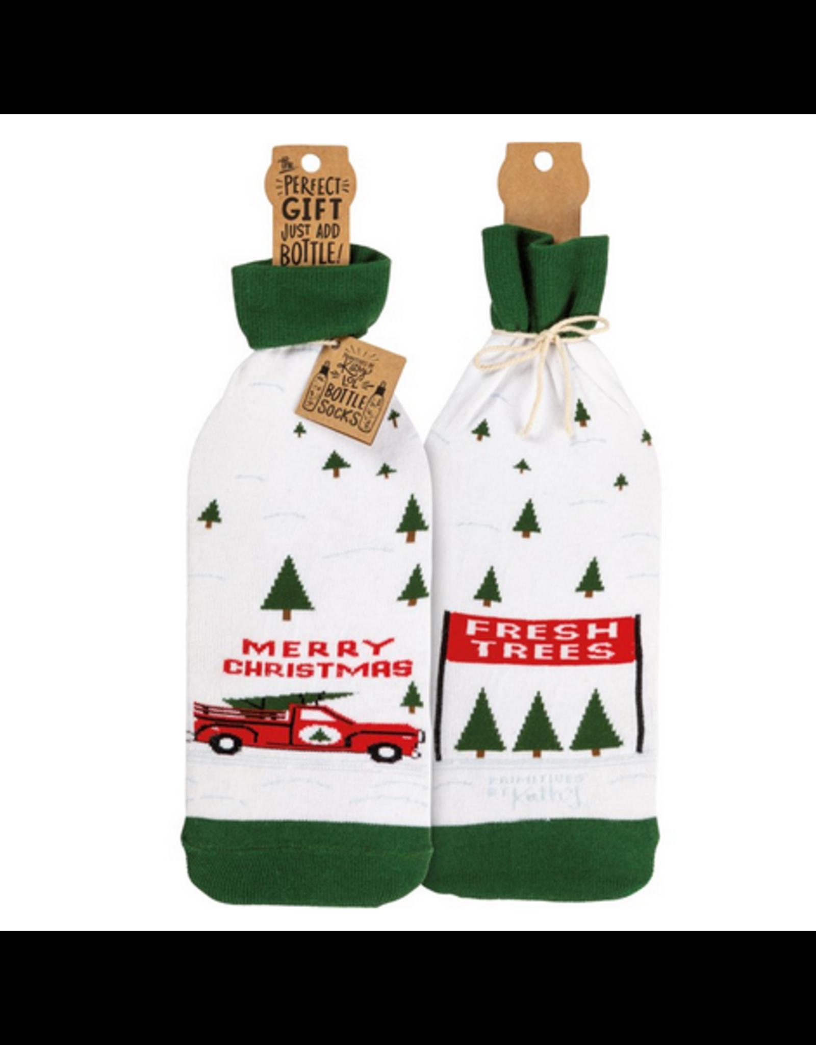 Bottle Sock, Truck & Tree