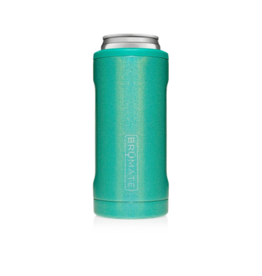 Hopsulator Slim Insulated Can-Cooler, glitter peacock