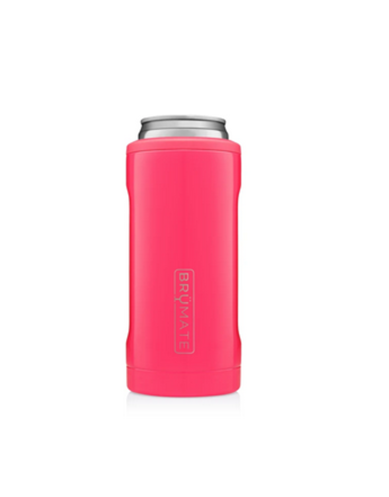 Hopsulator Slim Insulated Can-Cooler, neon pink