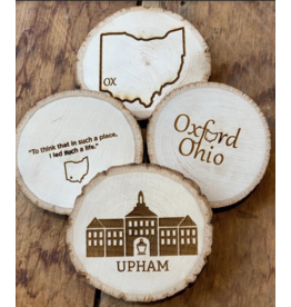 Oxford Wooden Coasters