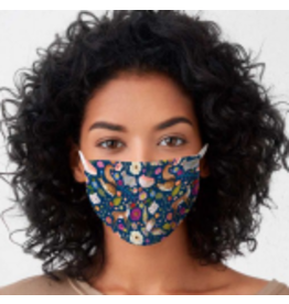 In the Woods Cotton Jersey Face Mask