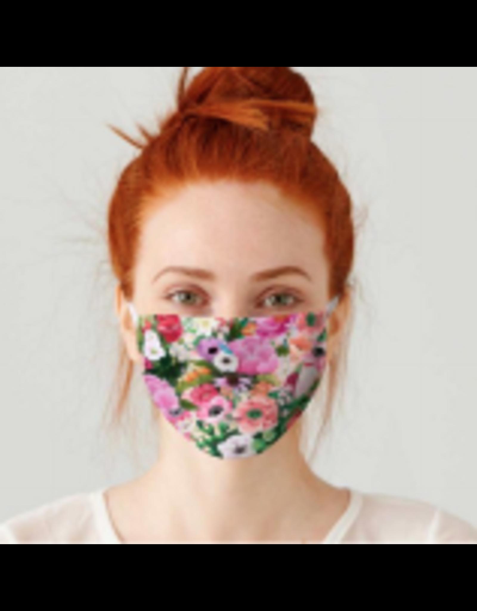 Haute House Floral - Cotton Jersey Face Masks