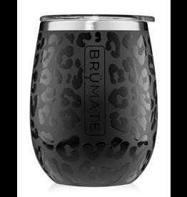 Uncork'd XL 14OZ Wine Tumbler, Onyx Leopard