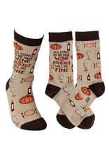 Socks, As long as we have WINE the HOLIDAYS will be FINE