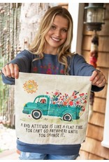 Natural LIfe Mini Canvas Tapestry, Bad Attitude
