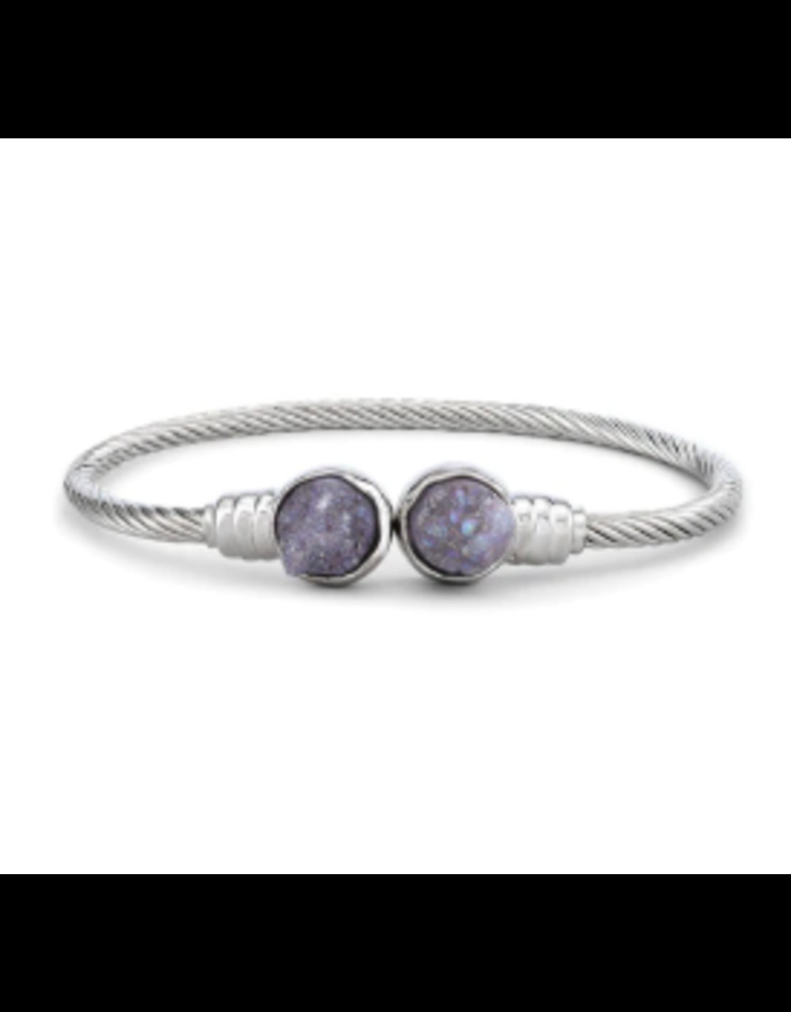 Demdaco Druzy Birthstone Bracelet