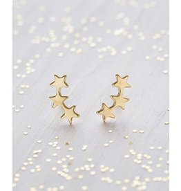 Star Cluster Studs, Gold