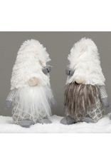 """Gnome with Furry Hat, Grey Beard 9"""""""