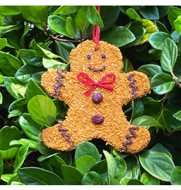 Mr. Bird Gingerbread Man Christmas Tweet Ornament