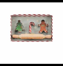 Mud Pie Kids Christmas Cookie Cutter Set