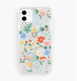 Clear Strawberry Fields iphone 11/XR Case