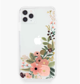 Clear Garden Party Rose iphone 11Pro/X/XS Case