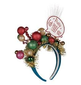 Lit Pretty Fab-Yule-Ous Headband