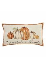 Mud Pie Pumpkins Tapestry Pillow