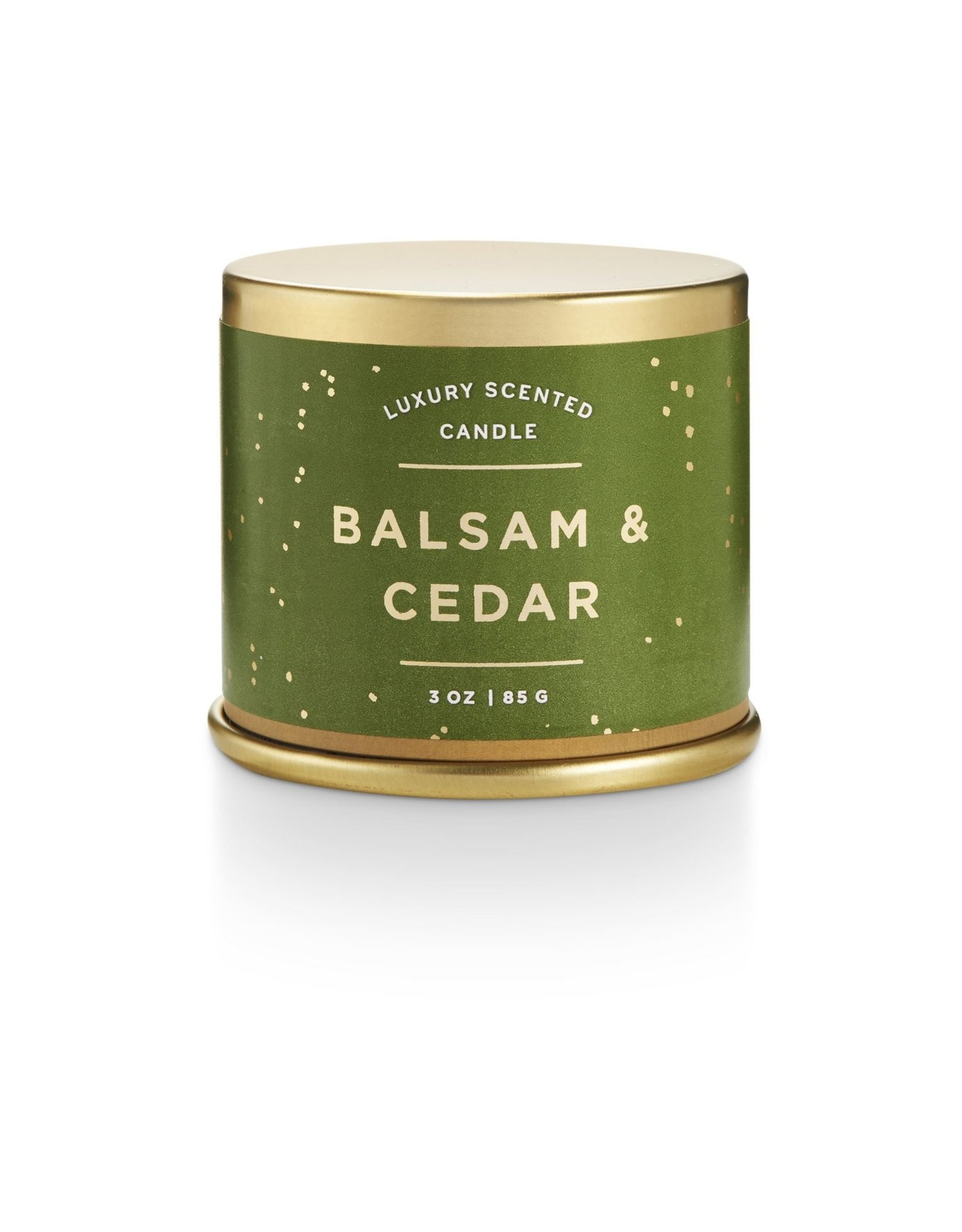 Balsam & Cedar Demi Tin