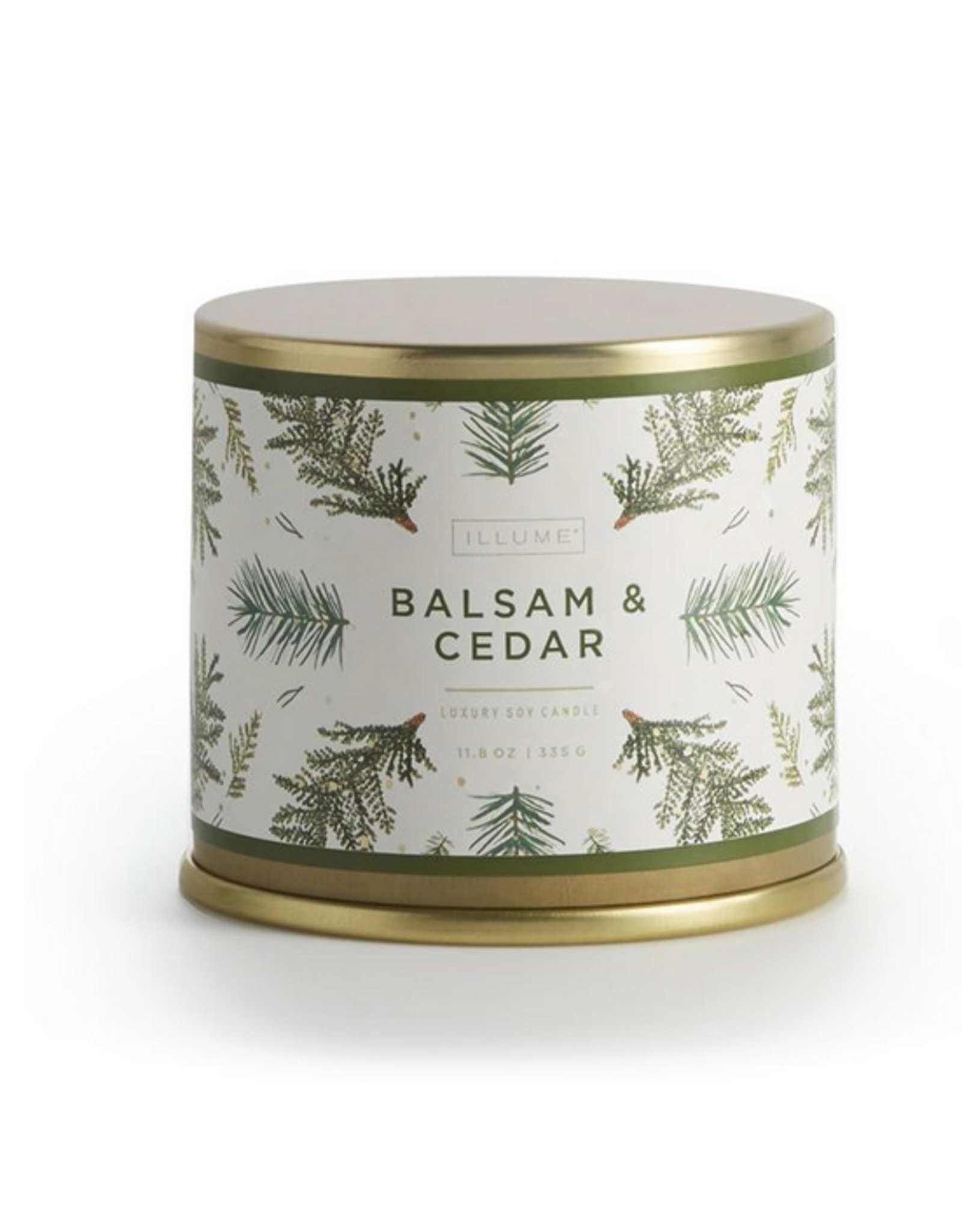 Balsam & Cedar Large Tin Candle