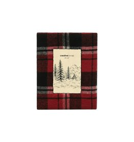 Photo Frame, Red & Black Plaid