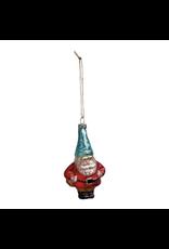 Glass Ornament, Santa Gnome