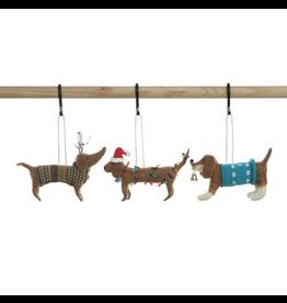 Wool Felt Dog Ornament