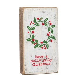 Magnetic Stitch Block, Holly Jolly