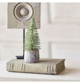 "Iced Foxtail Pine Tree, 6"""