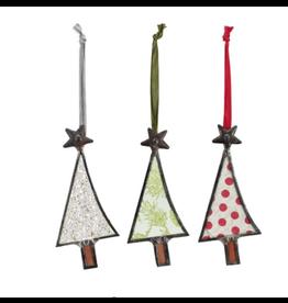Glass Tree Ornaments